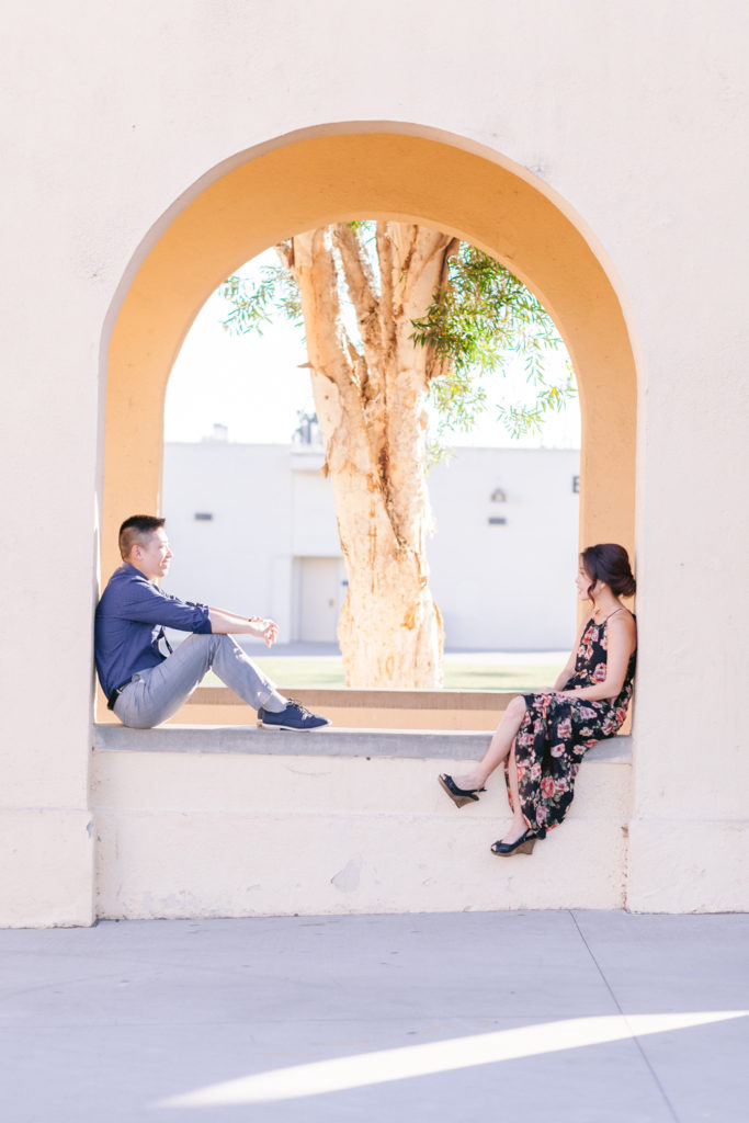 couple arch high school