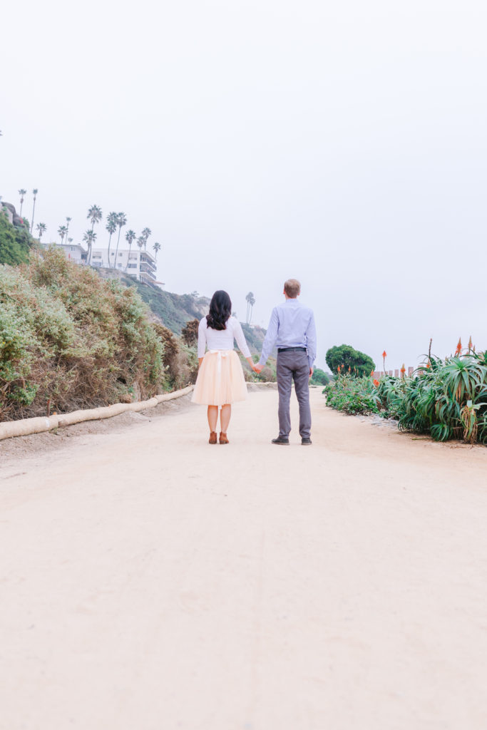 Vicky + Ted Engagement San Clemente