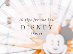 10 tips disneyland engagement session photos