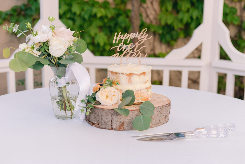wedding cake happily ever after