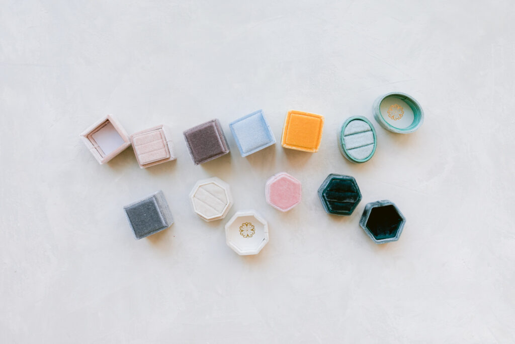 ring boxes for style kit