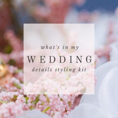 wedding styling kit