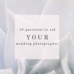 10 questions to ask your photographer