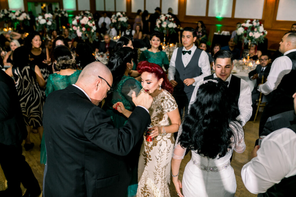 vintage wedding dance