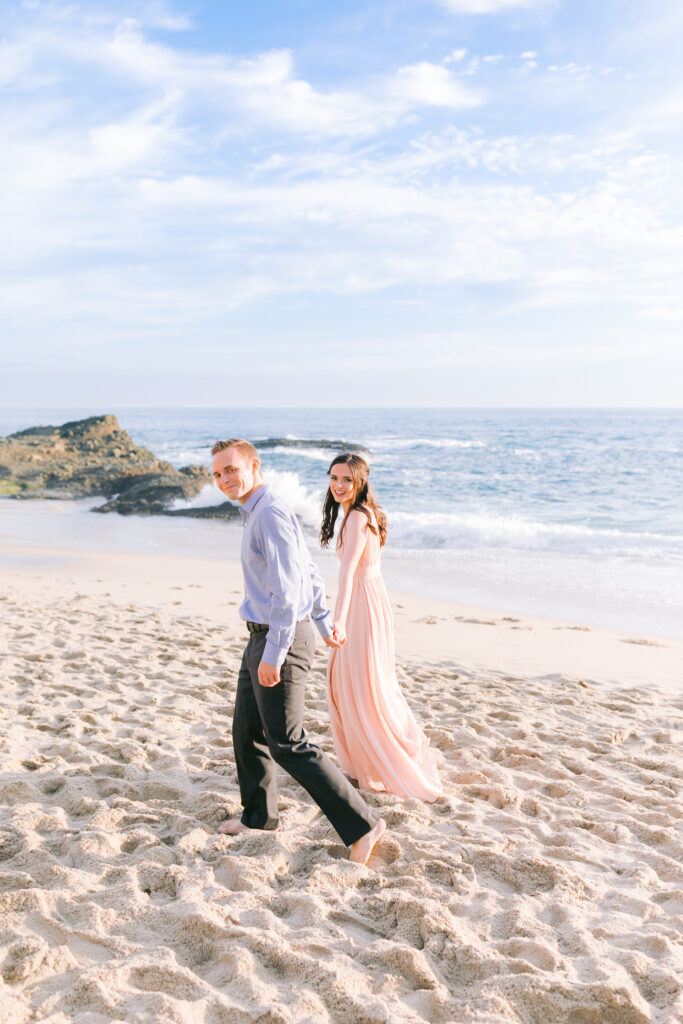 laguna beach engagement couple style guide