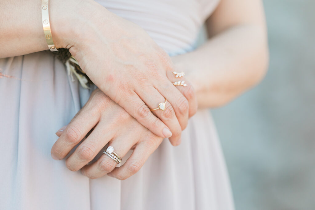engagement session ring details
