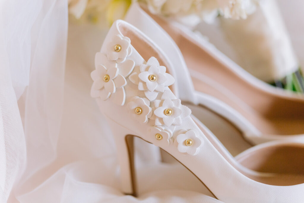 shoes details wiens winery wedding