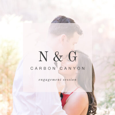 lush forest engagement session